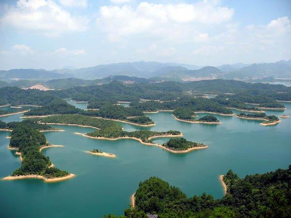 Цяньдаоху (Циндао) - Озеро тысячи островов