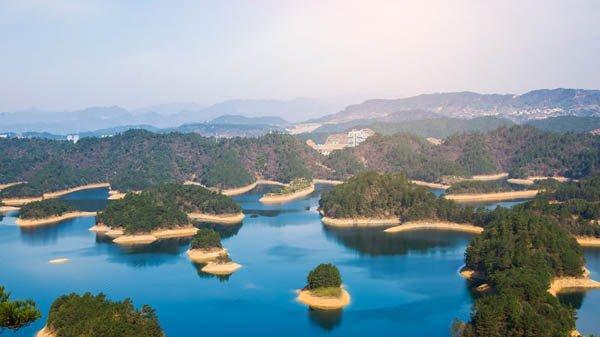 Цяньдаоху (Циндао) - Озеро тысячи островов, Китай