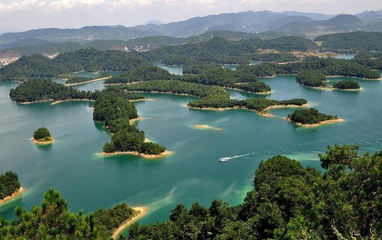 Цяньдаоху (Циндао) - Озеро тысячи островов в Китае