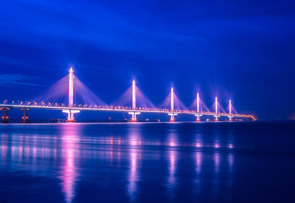 Цзясин-Шаосин мост в Китае