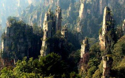 Национальный парк парк Чжанцзяцзе в Китае — Аватар Джеймса Камерона