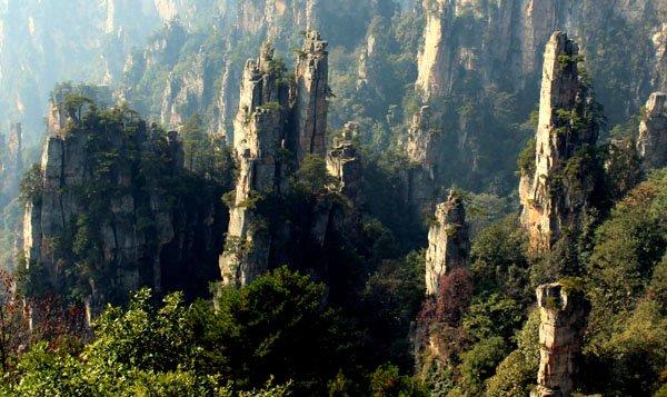 Национальный парк Чжанцзяцзе в Китае - Аватар Джеймса Камерона