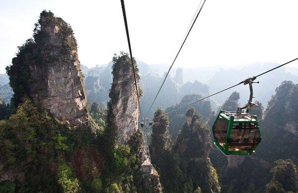 Парк Чжанцзяцзе в Китае, достопримечательности