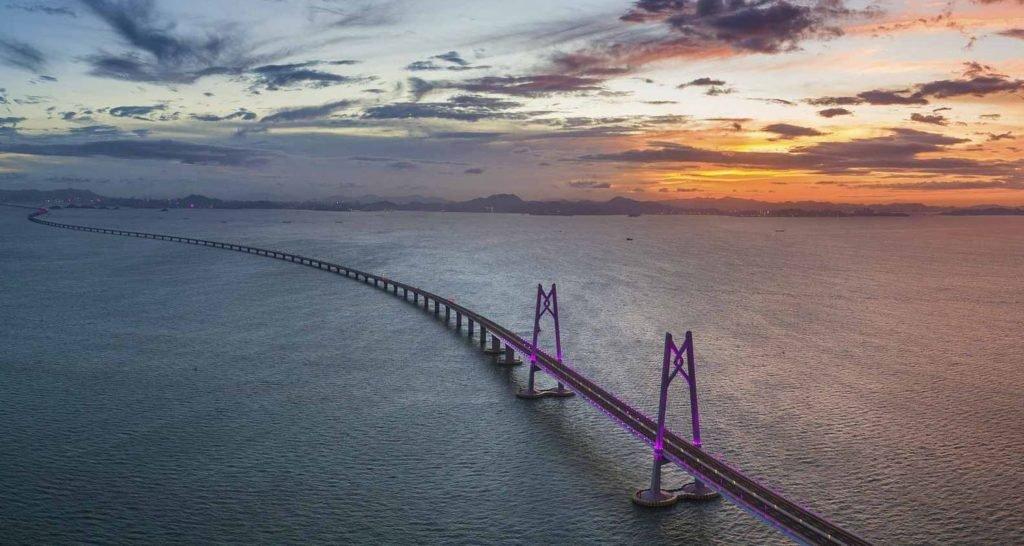 Гонконг-Чжухай-Макао - длинный мост в Китае