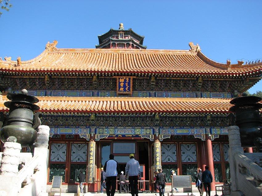 """Фосянгэ (""""Храм Благовонных курений"""") - Китай, Ихэюань"""