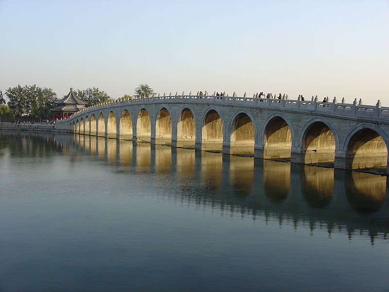 Арочный мост Шицикунцяо - Китай, Ихэюань