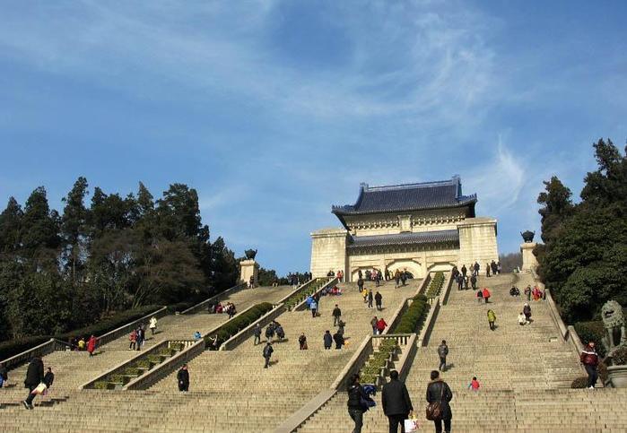 Мавзолей Сунь Ятсена, Китай, Нанкин