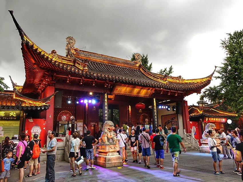 Fuzimiao, Нанкин, Китай