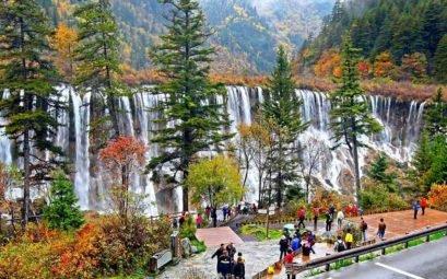 Водопад Нуорилан - Китай, долина Цзючжайгоу