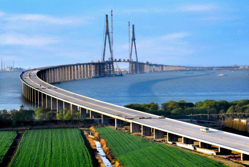 Мост Сутун в Китае
