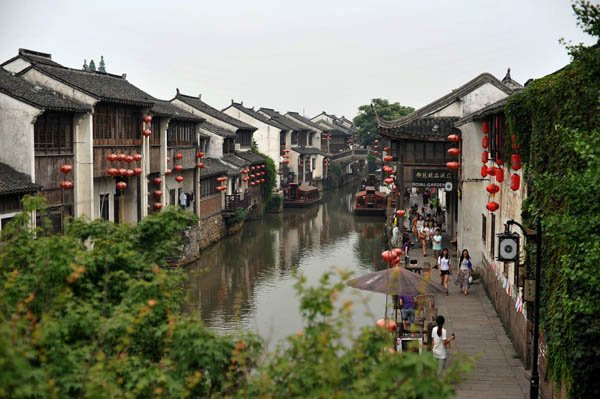 Тунли - город на воде в Китае