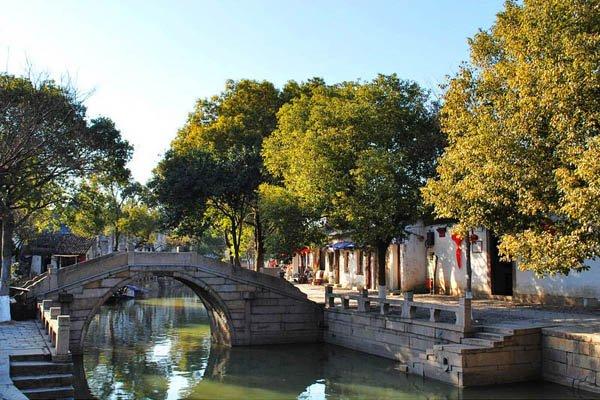 итай, Тунли - город на воде, красивые мостики
