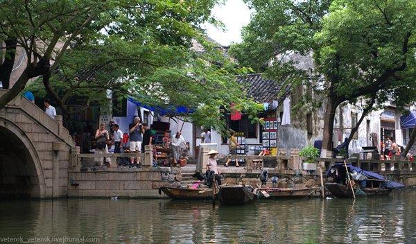 Китай, Тунли - город на воде