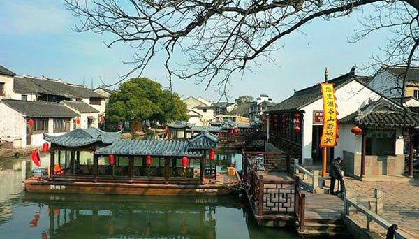Тунли - город на воде, Китай