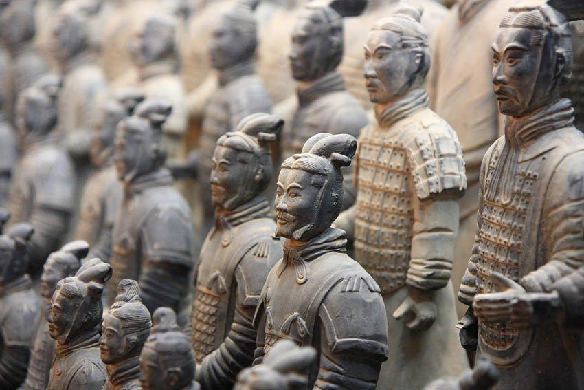 Терракотовая армия императора Цинь Шихуанди - Китай