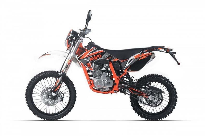 Kayo T4 Enduro 250 китайский мотоцикл