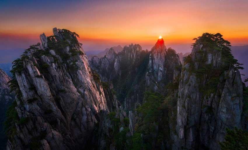 Горы Хуашань Китай