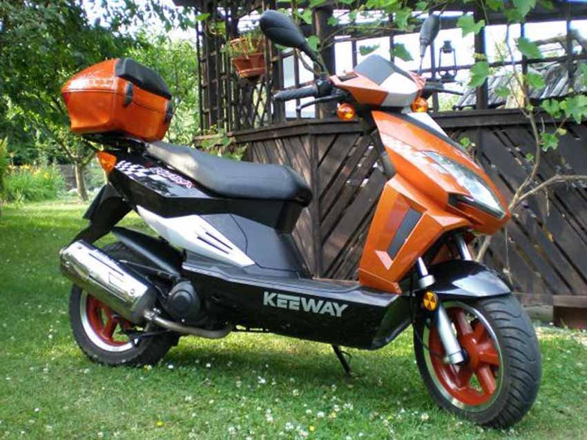 Keeway Matrix 50 китайский скутер