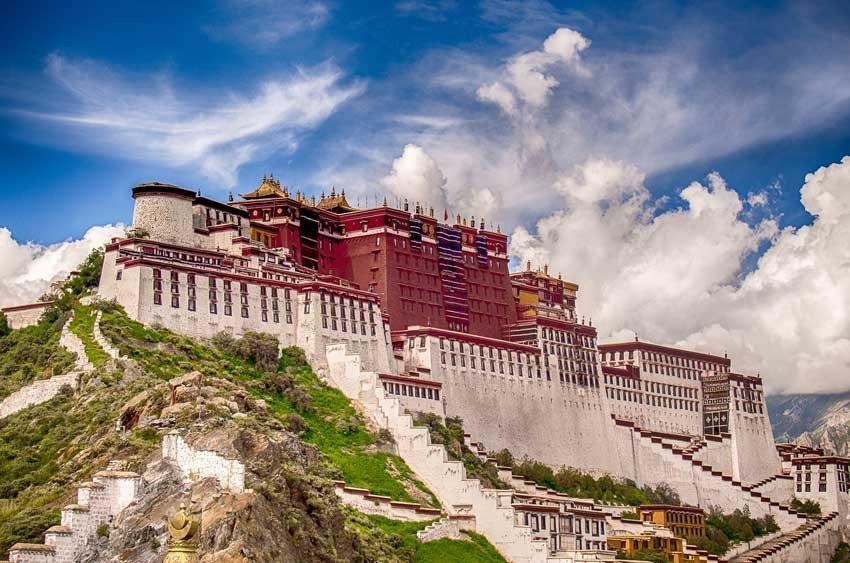 Дворец Потала Китай
