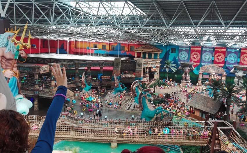 Аквапарк в Харбине, Посейдон, Китай
