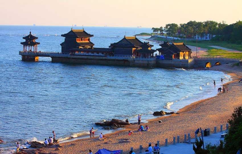 Бэйдайхэ - курортный город в Китае