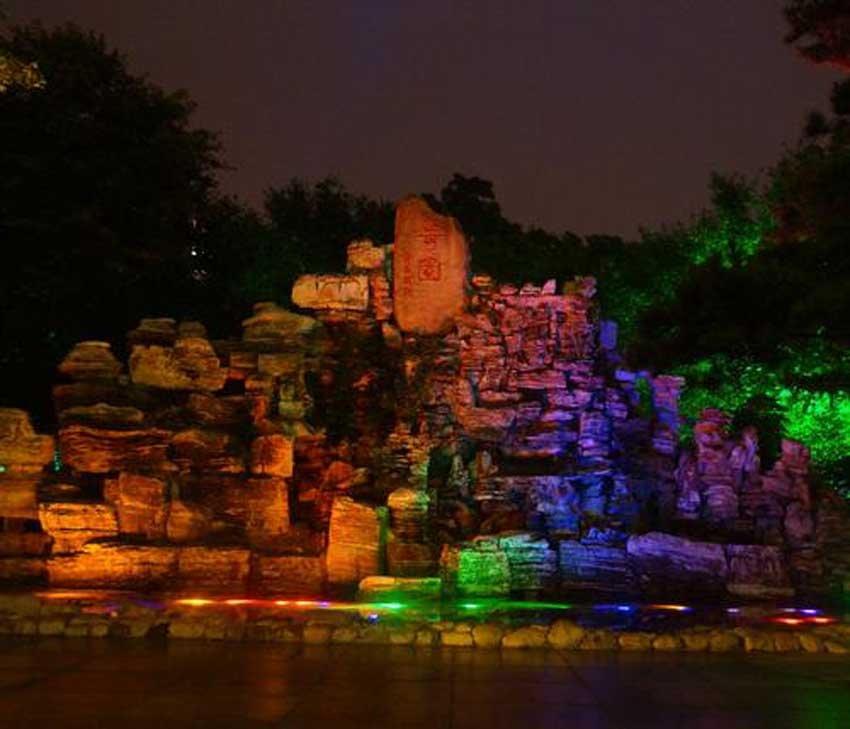 Парк фонарей, Бэйдайхэ, Китай