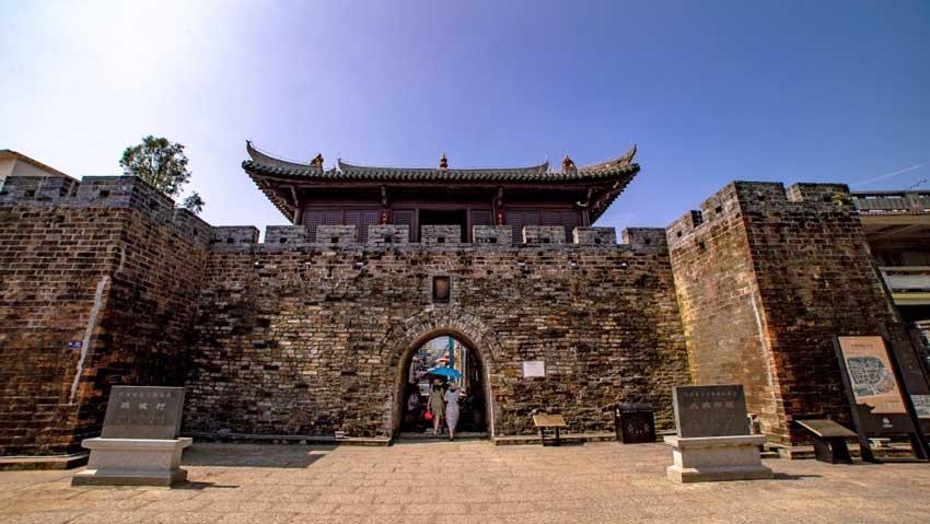 Крепость Дапэн в Шэнчжэнь, Китай