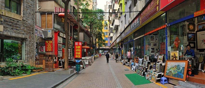 Деревня художников Дафень, Шэнчжэнь, Китай