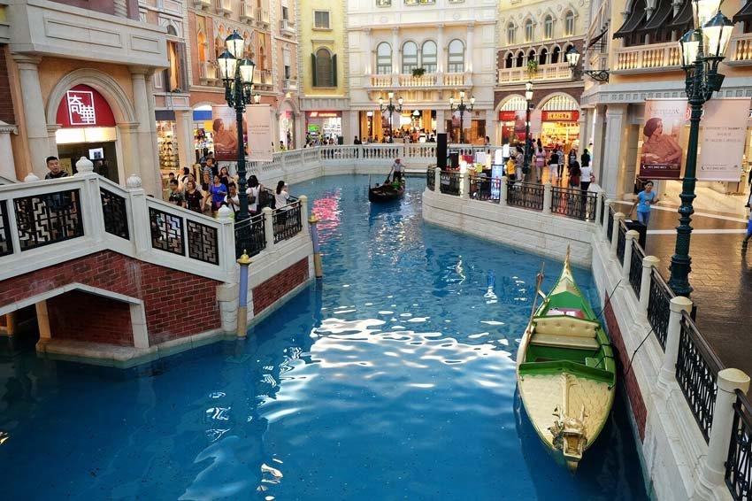 Казино «Венеция» в Макао, Китай