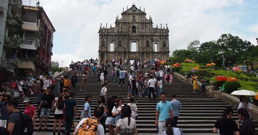 Церковь Святого Павла в Макао, Китай