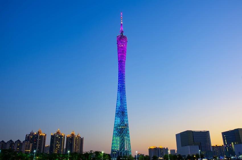 Canton Tower - телебашня в  Китае