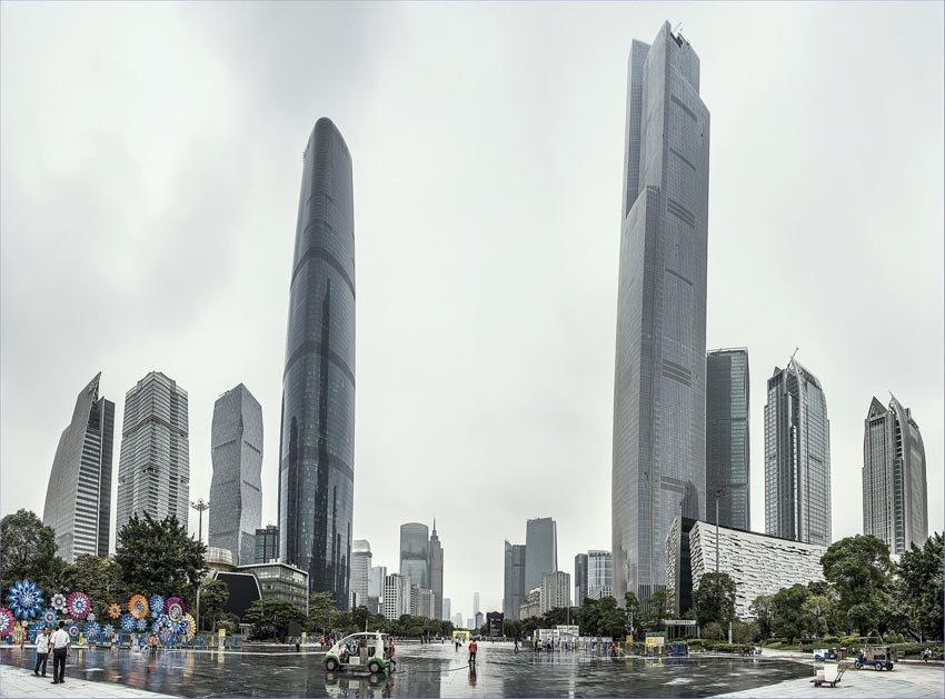 CTF Finance Centre - небоскребы в Китае