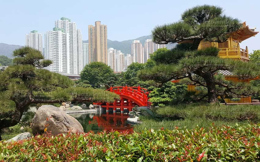 Hong Kong Park - парк в Гонконге, Китай