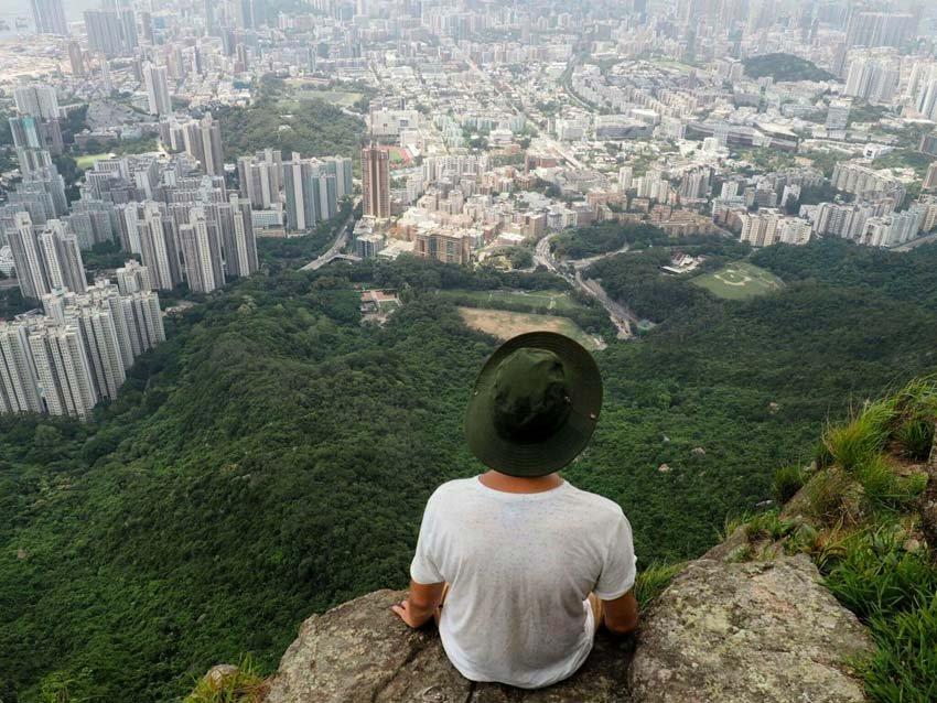 Lion Rock - Львиная Скала, Гонконг, Китай