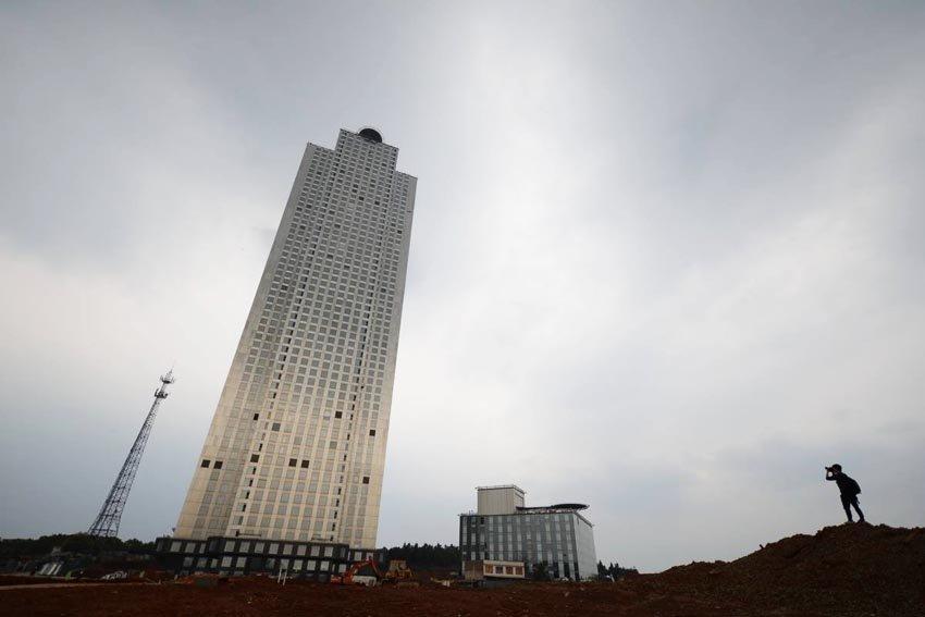 Mini Sky City - башня в Китае
