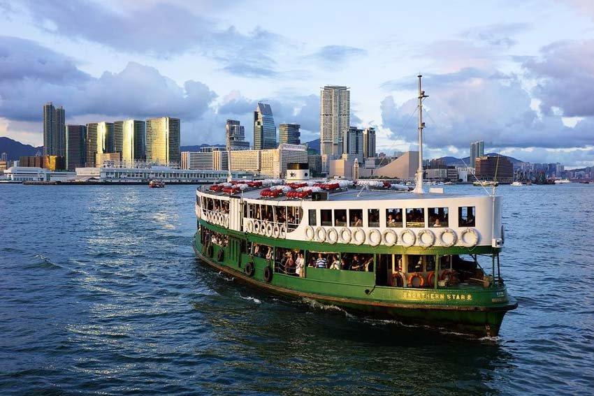 Star Ferry, Гонконг, Китай