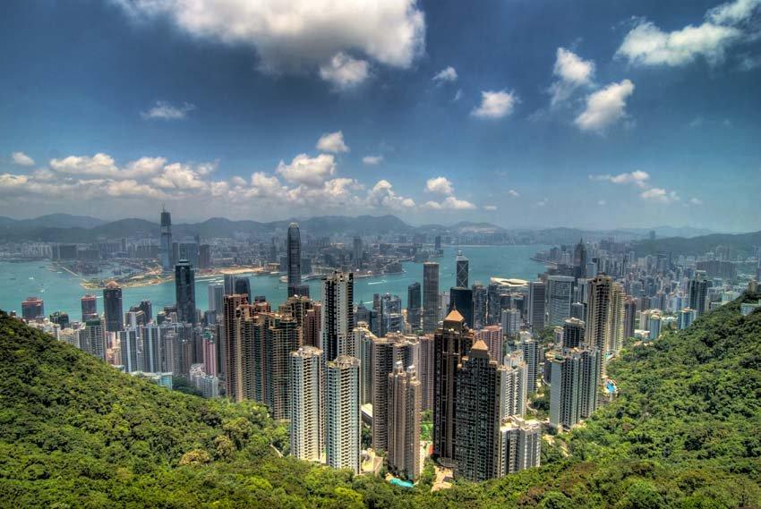 Victoria Peak- Гонконг Китай