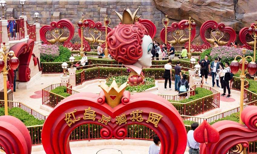 Диснейленд в Шанхае, Китай