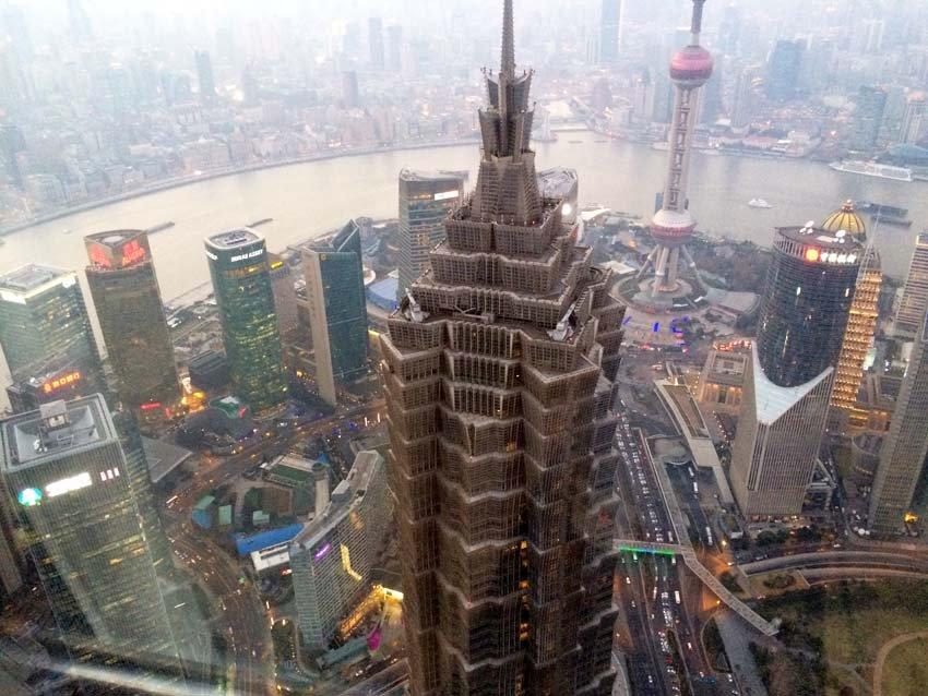 Jin Mao Tower - башня в Китае