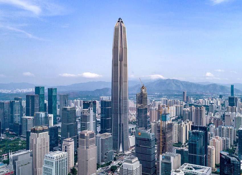 Пинань - башня в Китае
