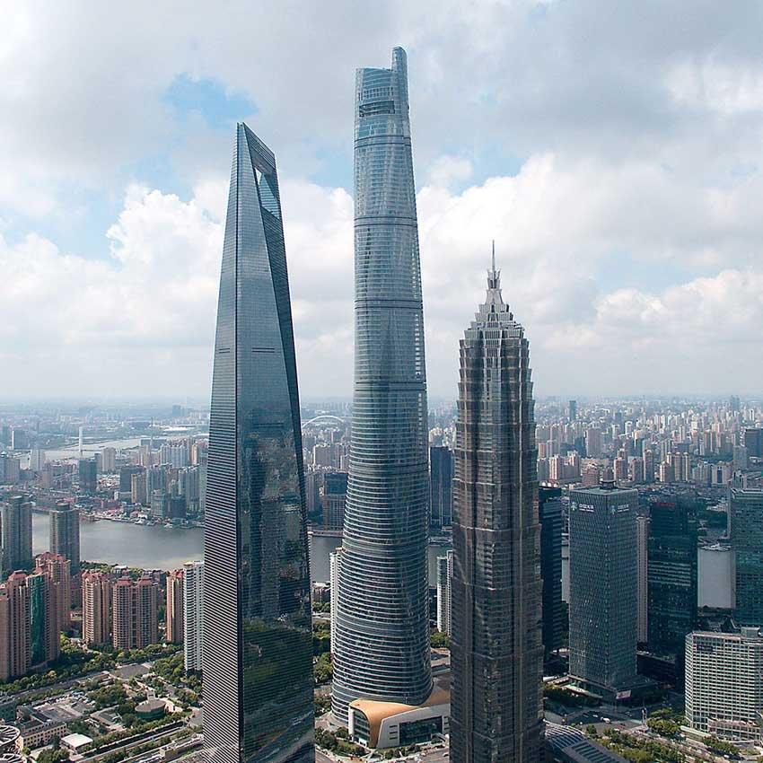 Shanghai Tower - башня Шанхая, Китай
