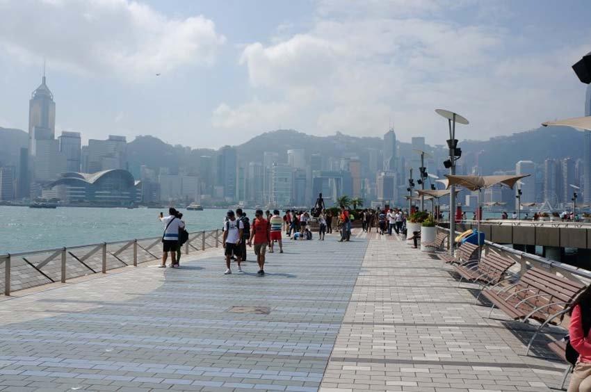 «Звездное авеню» - Гонконг, Китай