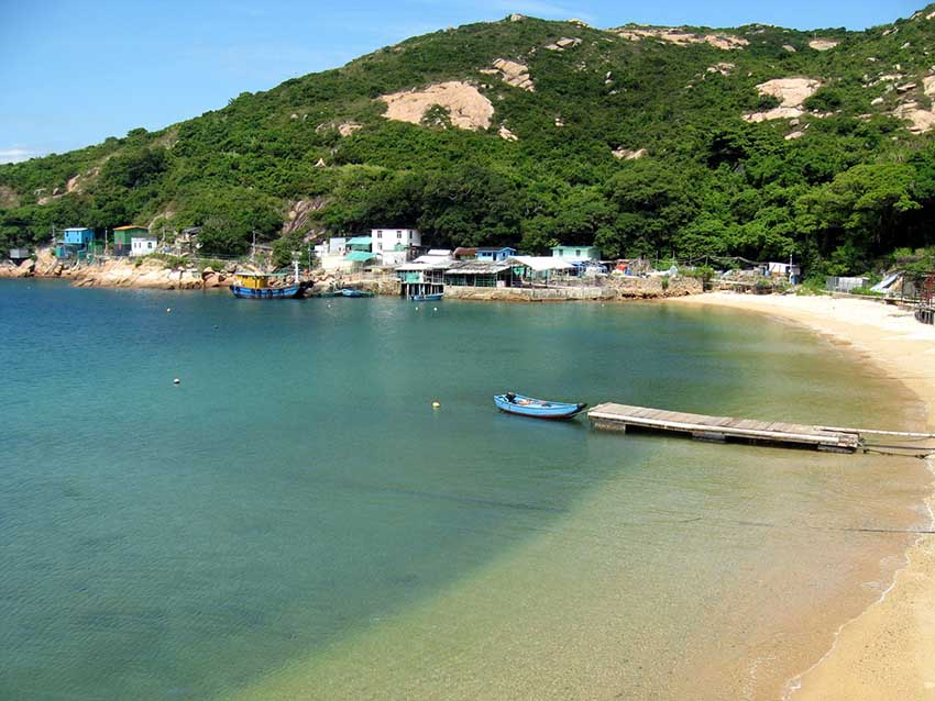 Po Toi пляж в Гонконге