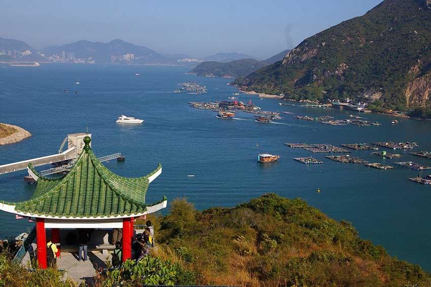 Lamma Island пляж Гонконг