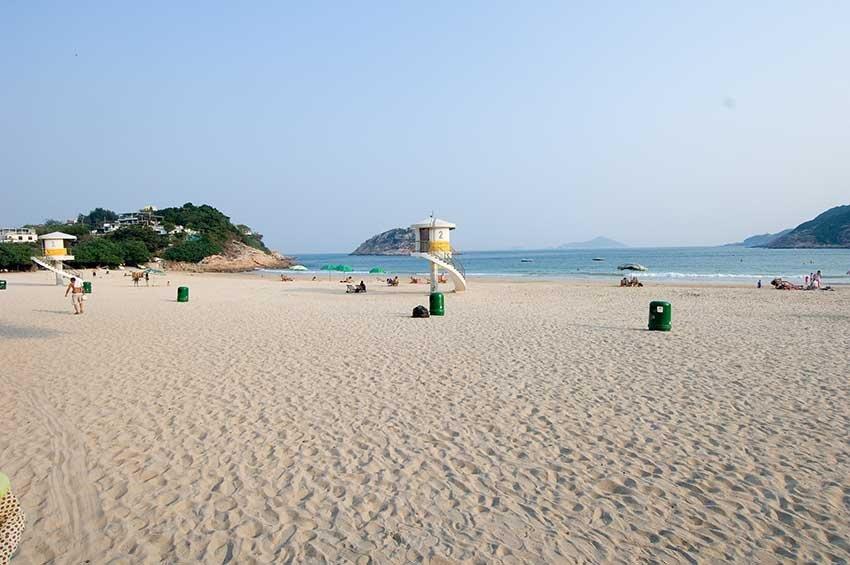 Shek O Beach пляж в Гонконге