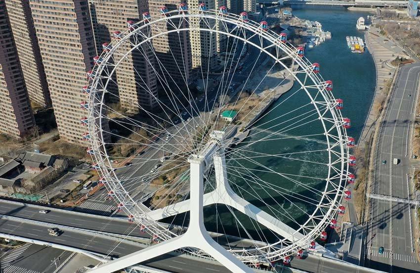 Обзорное колесо Тяньцзинь