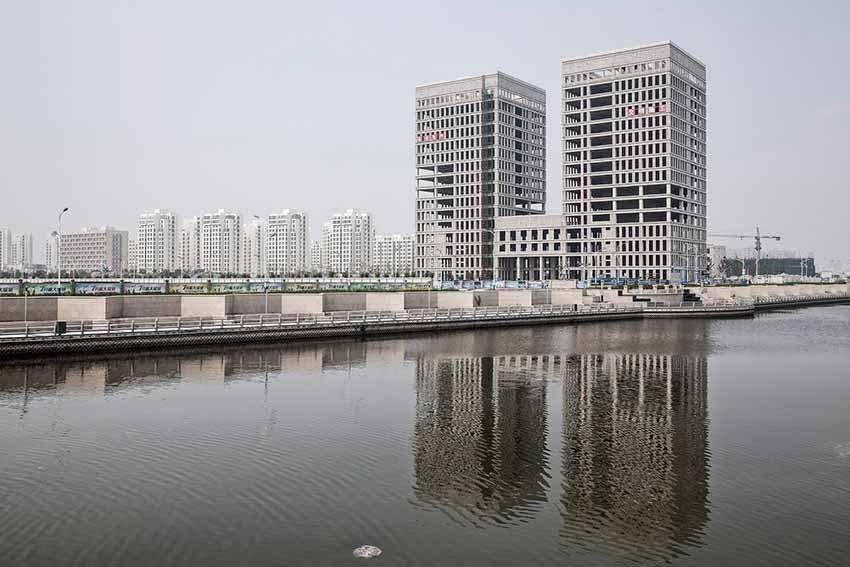 Цаофэйдянь - город призрак в Китае