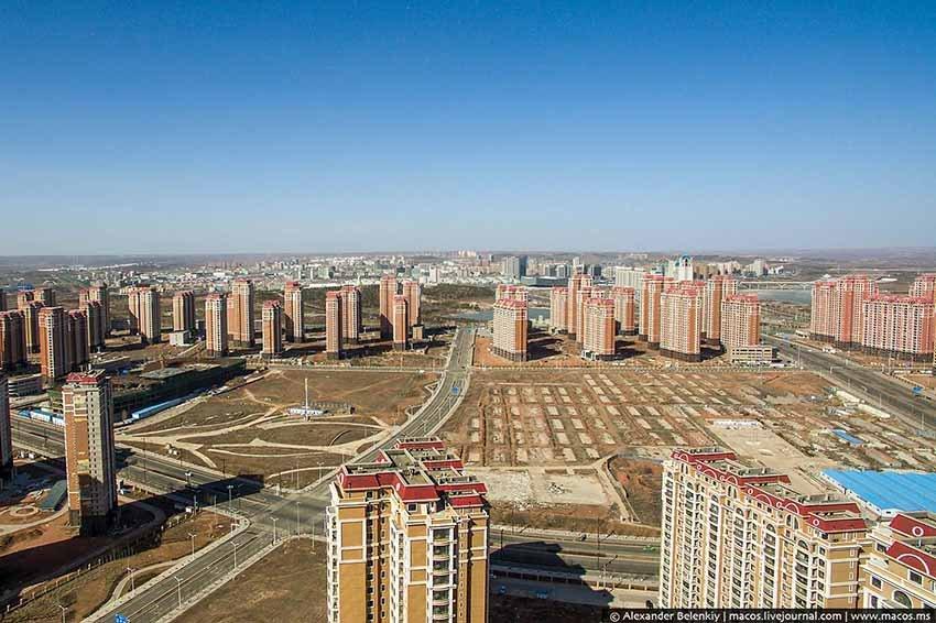 Кангбаши - город призрак в Китае