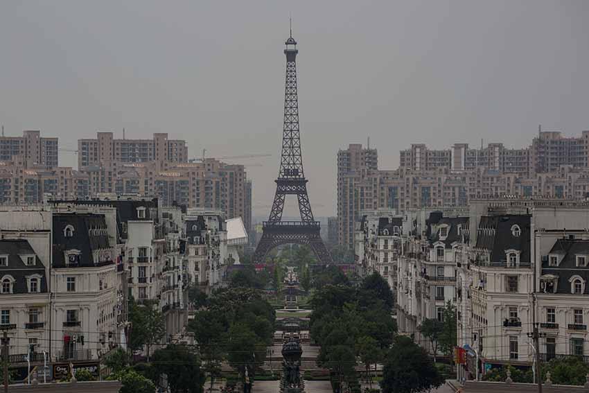 Тяньдучэн - город призрак в Китае
