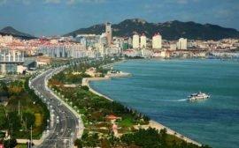 Вэйхай, Китай - достопримечательности курортного города
